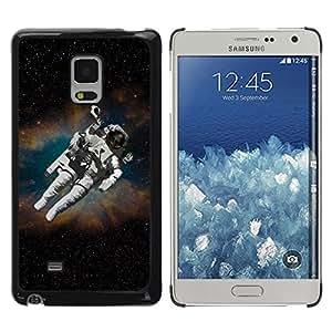 Be Good Phone Accessory // Dura Cáscara cubierta Protectora Caso Carcasa Funda de Protección para Samsung Galaxy Mega 5.8 9150 9152 // Astronaut Cosmonaut In Space