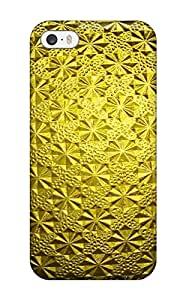 ICRQHQH8088irTaf Case Cover Protector For Iphone 5/5s Gold Case