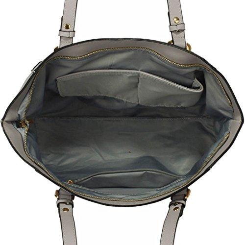 50 Grey Gorgeous SAVE Grab DELIVERY Handbag Shoulder FREE UK g88rF