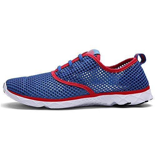 Quicksilk Männer schnell trocknende Aqua Water Schuhe Blau