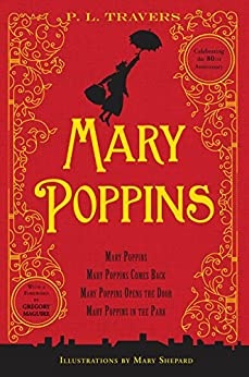 MARY POPPINS 80TH ANNIVERSARY BY P. L. TRAVERS HARDCOVER 2014 9780544340473