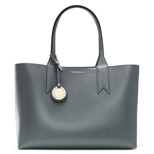 Bag Grey Emporio Armani Shopper Textured Armani Emporio Frida Curcuma Stone 1nqTHWp0f