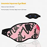 Dzzkoye Womens Sleep Mask with Advanced LED Lights to Alleviate Insomnia so as to Bring Health and Beauty