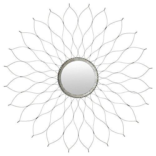 Safavieh Home Collection Silver Flower Mirror