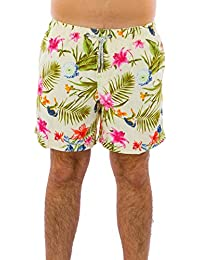 Exist Floral Print Men's Swim Trunks