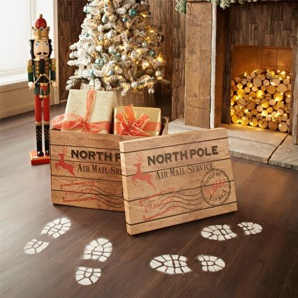 graceful christmas crate north pole air mail service please stop here santa special delivery - Does Mail Get Delivered On Christmas Eve