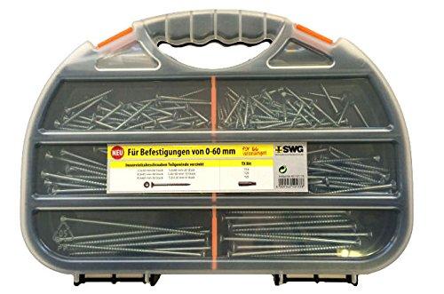 Schraubensortiment mit Bits Torx Sortimentkasten Schraubenbox Schraubenkasten EisenRon