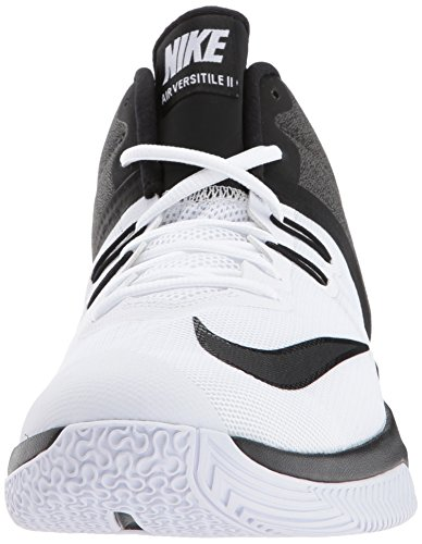 Air Basketball Nike White Shoe Black II Versitile Men's C11p5U