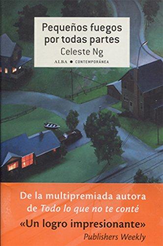 Book cover from Pequeños fuegos por todas partesby Celeste Ng
