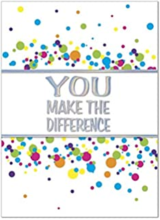 25 employee anniversary cards you make the difference 26 white envelopes eco friendly - Employee Anniversary Cards