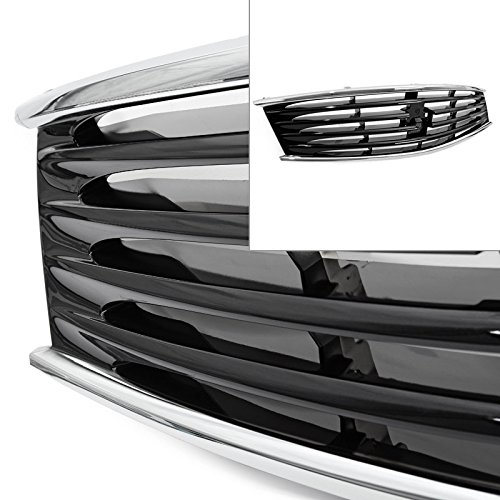 For Infiniti 08-13 G37 14-15 Q60 Coupe Front Bumper Hood Midnight Black Grille