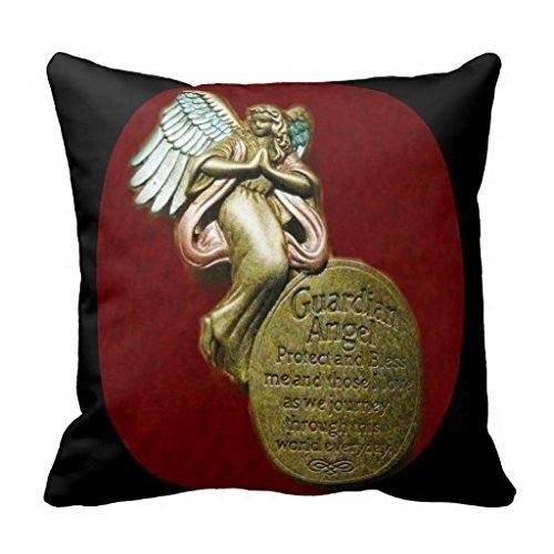 Ángel de la guarda oración Mojo funda de almohada: Amazon.es ...