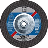 PFERD 63430 7'' x 1/8'' Notching Wheel, 5/8-11 Thd. A 24 R SG-INOX - Type 27 (10pk)