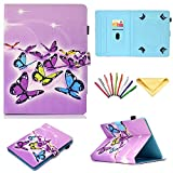 7 inch tablet case chromo inc - Uliking Universal Case for 6.5-7.5 inch Tablet, Folio Stand Cover with Pencil Card Holder for 6.8