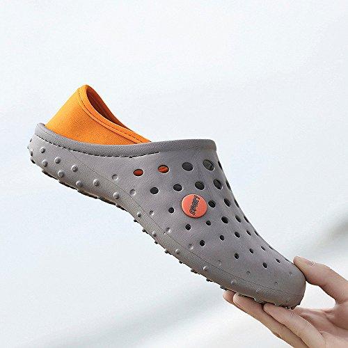 Agua Zapatillas Secado Rapido Sandalias Playa Transpirable Zapatos ALIKEEYMens Antideslizantes Zapatos De De Gris De qcvA5FxwW