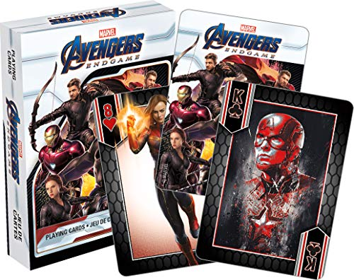 Aquarius Marvel Avengers End Game Movie Playing Cards (Cards Movie Playing)