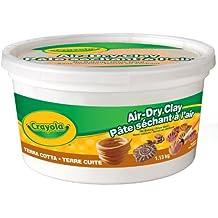 Crayola Air Dry Clay, 1.13 kg Bucket Terra Cotta