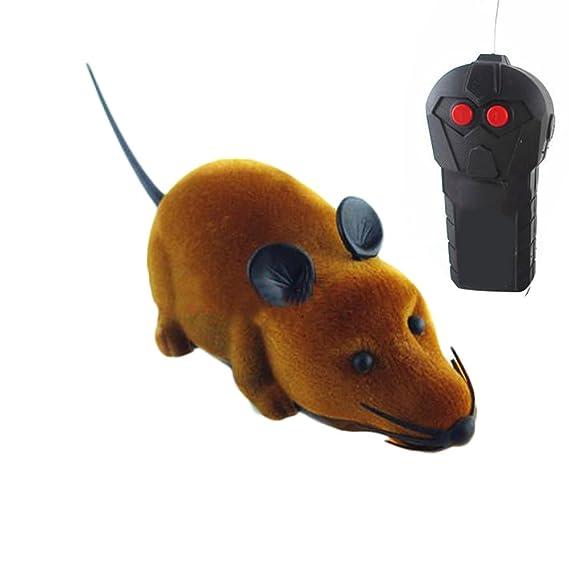 Control Remoto Inalámbrico Juguete de Ratón,AZX, Control Remoto para la Mascotas Perro Gato (Gris): Amazon.es: Juguetes y juegos
