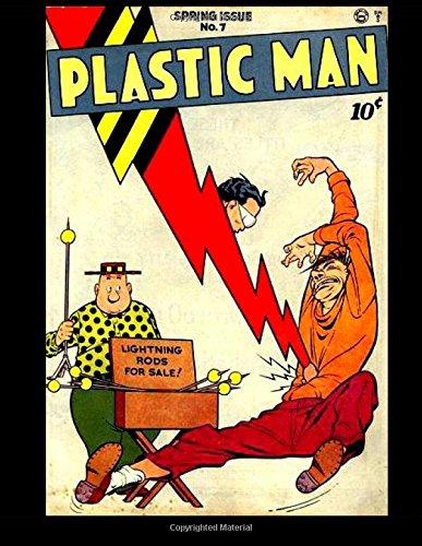 Read Online Plastic Man #7: Golden Age Superhero 1947 ebook