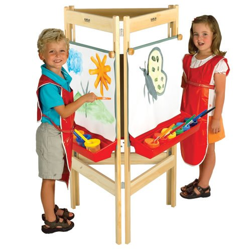 Three-Way Easel by Kaplan Early Learning Company