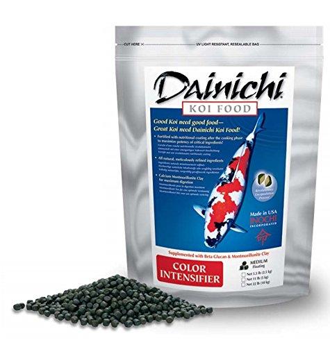 Sheen Intensifier (Dainichi KOI - COLOR INTENSIFIER (1.1 lb) Bag - Small Pellet)