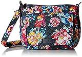 Vera Bradley Carson Mini Shoulder Bag, Signature Cotton, Pretty Posies
