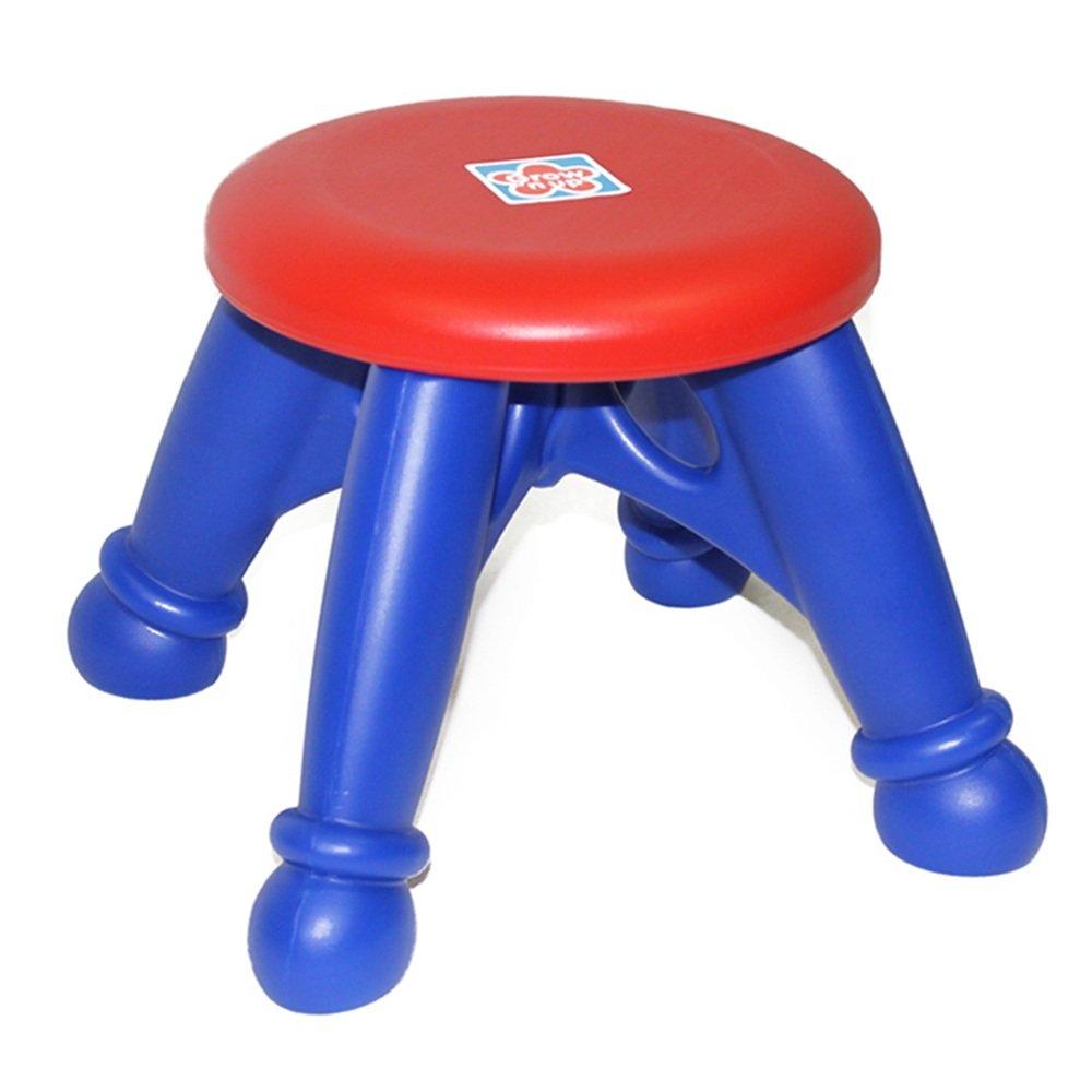 DingDing Taburetes Taburete de Ocio Redondo Adulto plástico Engrosado Taburete de Seguridad para niños Redondo Ocio 8307b6