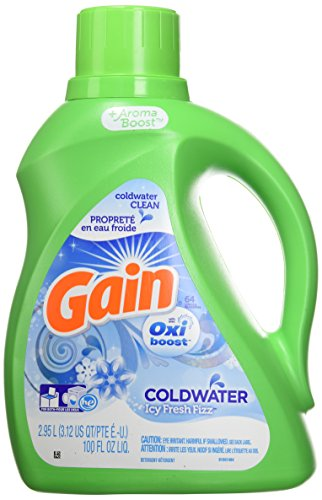 Gain With FreshLock Icy Fresh Fizz Liquid Detergent 52 Loads