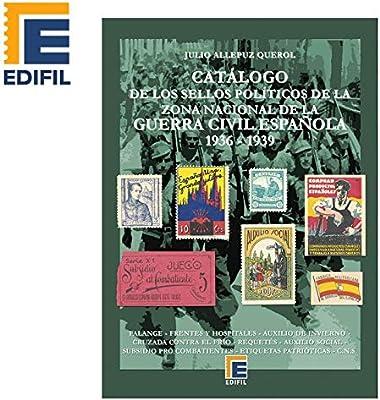 EDIFIL Catálogo de los Sellos políticos de la Zona Nacional de la ...