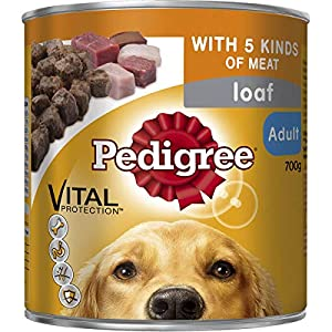 Pedigree Loaf with Five Kinds of Meat Wet Dog Food Can 700g Click on image for further info.