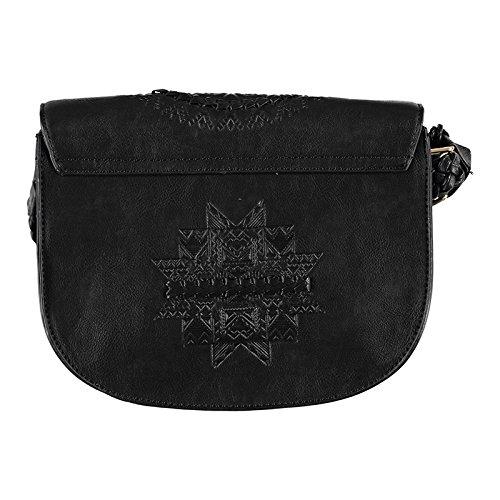 Femme sac a DESIGUAL bandouliere patricia turin noir q76ad