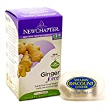 Bundle -2 Items: 1 Ginger Force by New Chapter - 60 Capsules and 1 VDC Pill Box