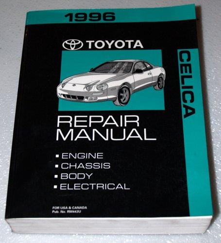 Toyota Celica Repair Manual 1996 Model