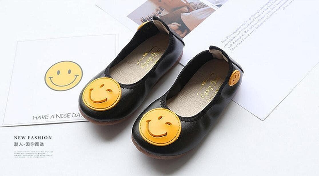 MIKA HOM Girls Foldable Ballet Flats Dress Walking Flats Shoes
