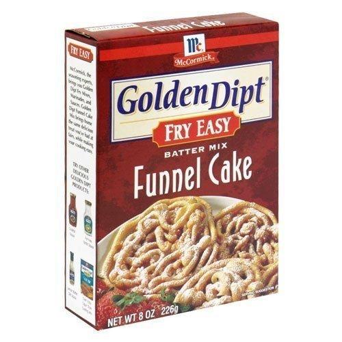 GOLDEN DIPT MIX FUNNEL CAKE, 8 OZ