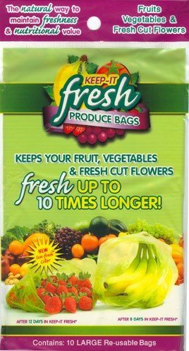 Green Bags Keep Fruit Fresh - 8