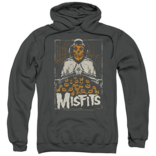 Misfits I Remember Halloween Hoodie, Charcoal, XL]()