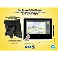 Yiynova MVP20U+FE(V2) Full HD Tablet Monitor (Mac & Windows)(HDMI + 5V3A USB Port)(Ready to Use with Yiynova Cloud PC)