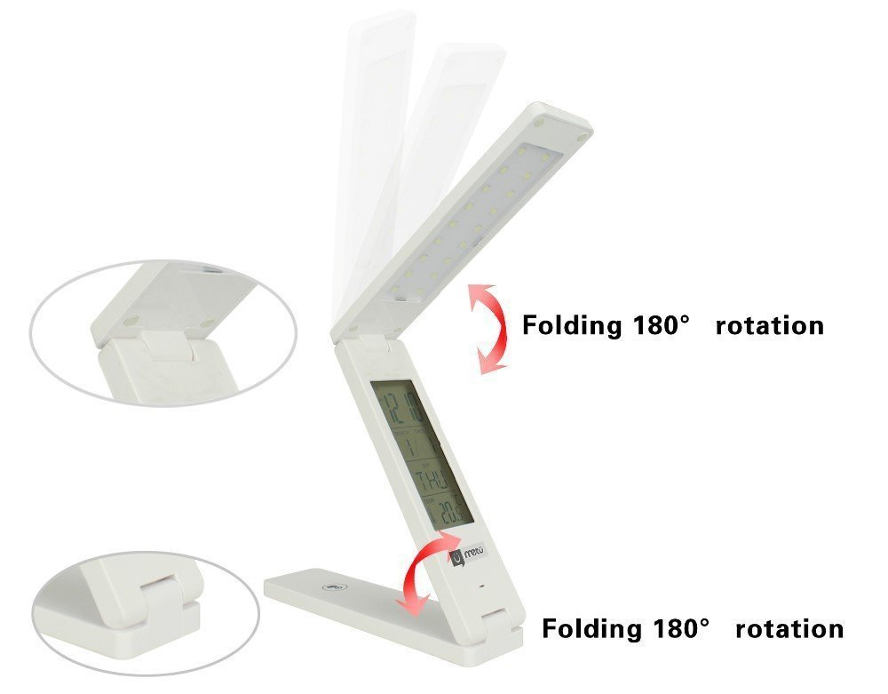 Solar table lamp: 5 in 1 Foldable Solar Table Lamp