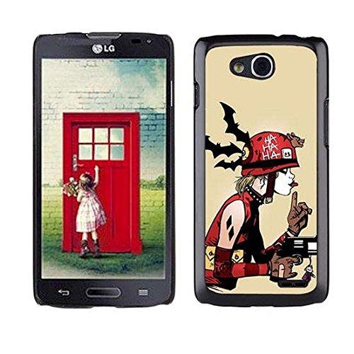 Custom Phone Case For LG Optimus L90, Joker Harley Quinn Cool Design For (Chanel Cupcakes)