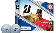 Bridgestone Tour B Xs Tiger Woods Edition Golf Balls Tour B Xs 12-Ball Pack, 01
