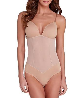 5acfdf0b9 Fine Lines Refined Bodysuit (RL134) at Amazon Women s Clothing store