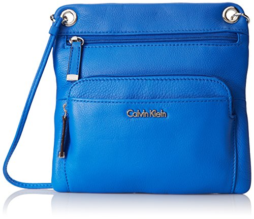 Calvin Klein Key Item Pebble Leather Cross Body Bag