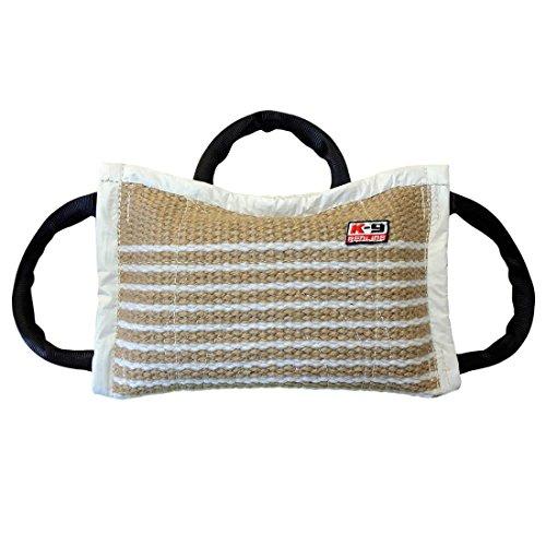 Redline K9 3 Handle Jute Bite Pillow / Gusset Soft 15