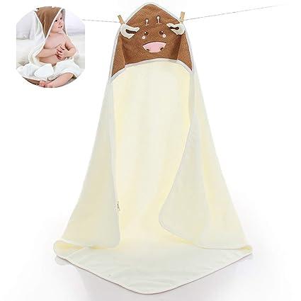 1PC algodón bebé con capucha toalla baño toallas animales albornoz toalla de algodón manta para bebés