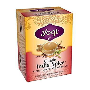 Yogi Tea Classic India Spice, 16-count (Pack of6)