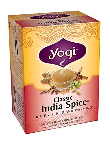 Yogi l'Inde classique Spice Tea, 16 sachets de thé (pack de 6)