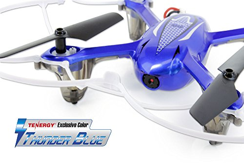 Tenergy Syma X11C 4 Channel 2.4Ghz RC Quadcopter with 2MP HD Camera & LED Lights (Tenergy Exclusive Thunder Blue)