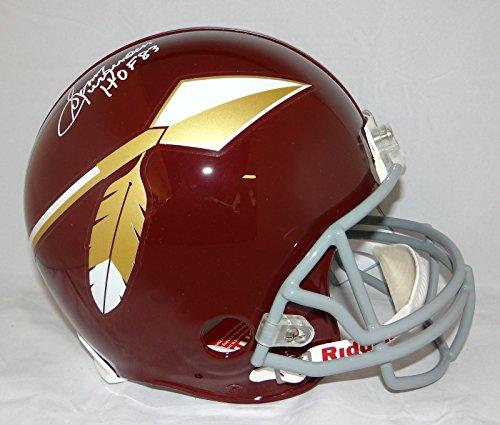 Sonny Jurgensen HOF Signed F/S Redskins 65-69 TB ProLine Helmet- JSA W Auth White