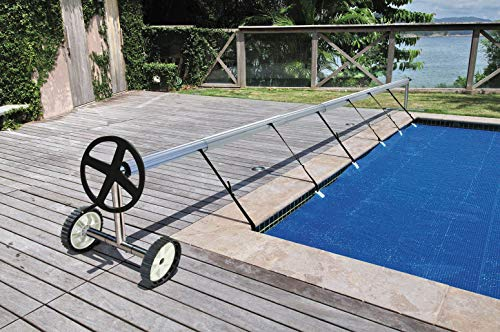 Kokido Stainless Steel In Ground Swimming Pool Cover Reel Set (Up To 18.7') -